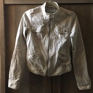 Abercrombie & Fitch Beige Spring Jacket - XL